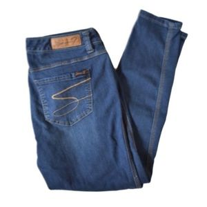 Seven7 Luxe Legging Womens Cropped Jeans Size 14